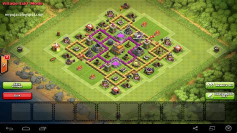 desain layout th7 base th 8 coc jagoan update quotes