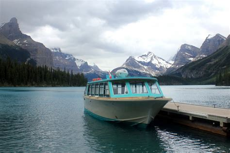 boat cruise of maligne lake in jasper national park - Boat Cruise Jasper