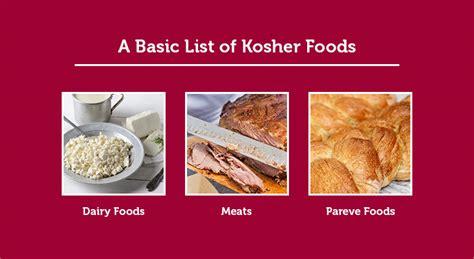 what makes kosher food kosher food ideas