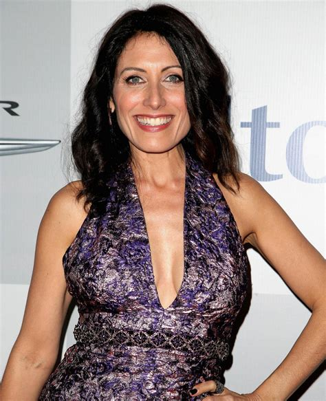 lisa edelstein at nbc golden globes party in beverly hills