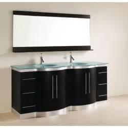 meuble salle de bain noir pas cher