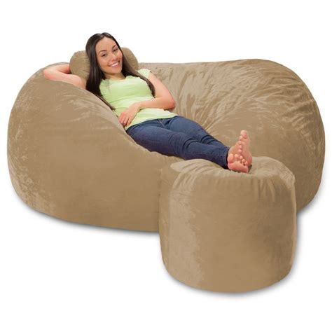 8 ft bean bag sofa smileydot us