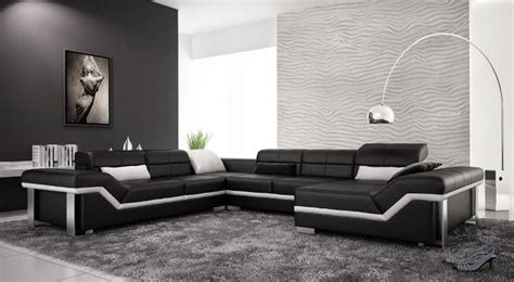 Leather Sofa Contemporary Design 20 Leather Designs For Your Living Room