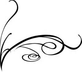 swirly vine tattoos decorative swirl clip art vector
