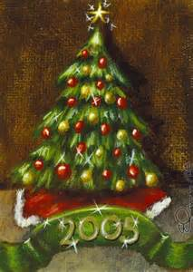 christmas tree 2005 by elaina wagner from