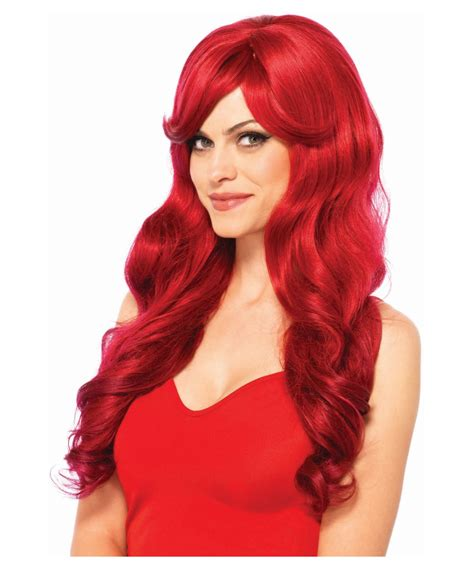 wig grips for women that have hair fiery red wig women costume