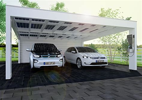 carport aufbauen lassen solarcarport passend zum design des hauses kaufen und