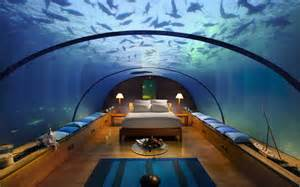 Undersea Bedroom World Visit Dubai Hotel Underwater