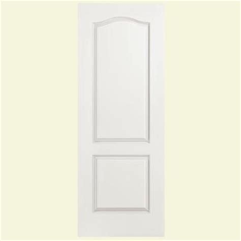 Masonite 24 In X 80 In Smooth 2 Panel Arch Top Hollow 2 Panel Arch Interior Door