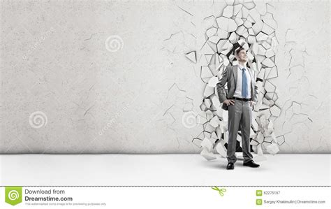 business breakthrough his breakthrough in business stock image image 62275197