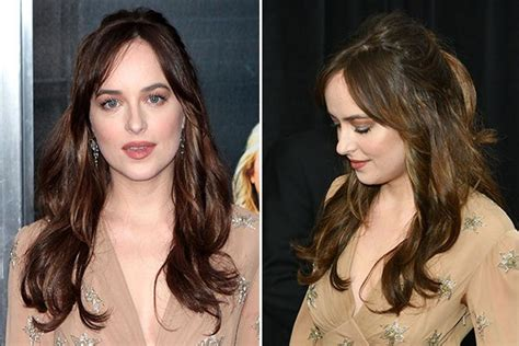 photos of dakota johnsons pubic hair dakota johnson s hair at how to be single premiere copy
