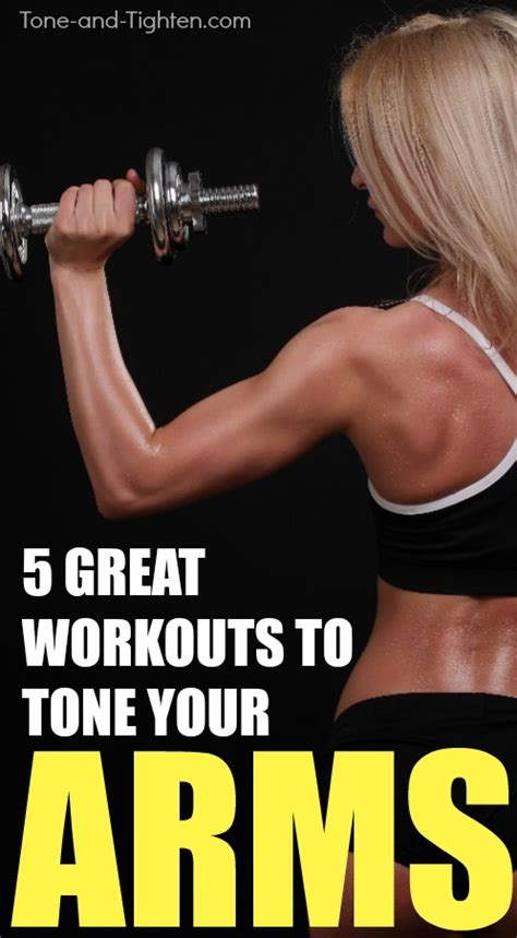 5 of the best at home arm workouts tone and tighten
