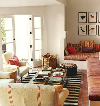 Eclectic Living Room On A Budget Salones De Estilo Boho Chic