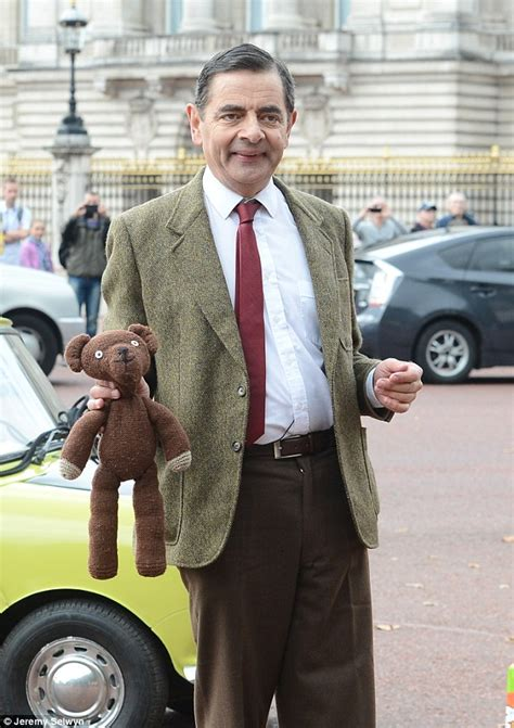 actor who looks like mr bean mr bean s doppelg 228 nger becomes internet star daily mail