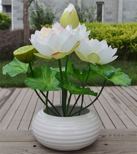popular silk lotus flowers buy cheap silk lotus flowers