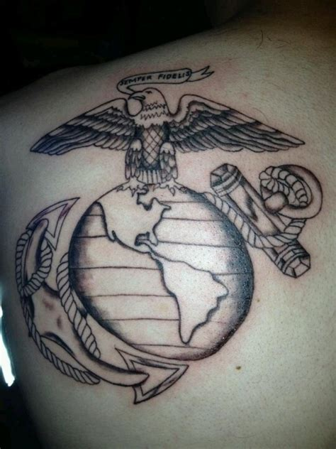semper fi tattooed on his left arm 1000 images about me marine on usmc