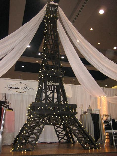 eiffel tower wedding table decorations eiffel tower decorations signature events rental
