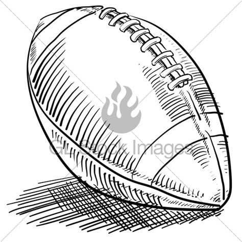 doodle football american football sketch 183 gl stock images