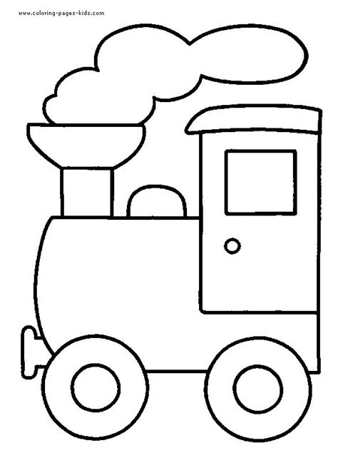 easy train coloring page 17 best easy coloring pages for young kids images on