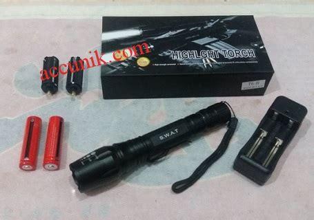 Senter Laser Mini jual senter swat 2 batre sinar kuning type b 18650 led zoom jual stungun kamera
