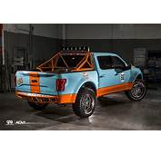 Gulf 2016 Ford F 150 Has Livery And ADV1 Wheels