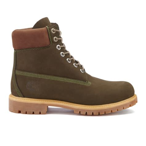 timberland s 6 inch premium boots olive