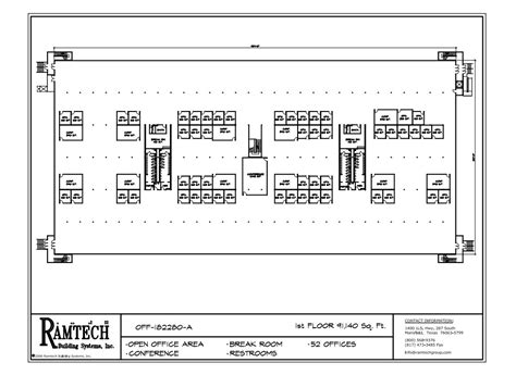 ramtech relocatable and permanent modular building floor plans ramtech relocatable and permanent modular building floor plans
