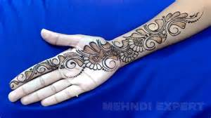 new easy and simple arabic henna design for hands step