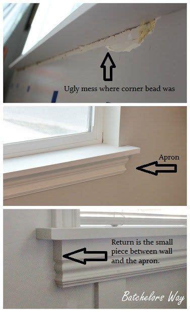 zocalo ventana how to install a window sill and trim ventana molduras