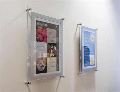 22 best poster holder displays for offices and retail