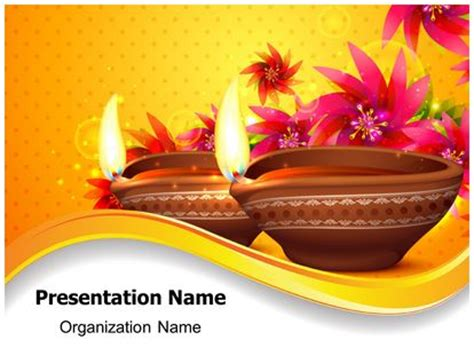 templates for diwali presentation diwali festival powerpoint template background