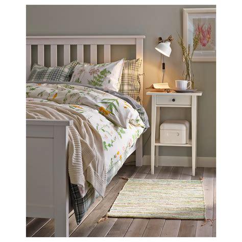 hemnes letto hemnes bed frame white stain leirsund 180x200 cm ikea