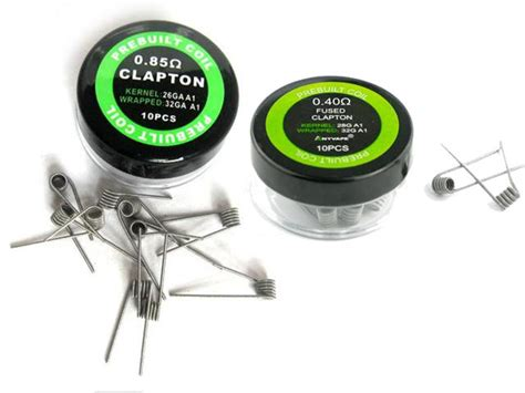 Prebuild Clapton Coil προτυλιγμένες prebuild eleaf clapton coils 0 85ohm 0