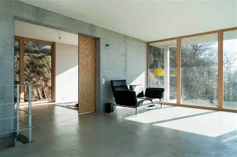 kerstens kamine gallery of house on a slope gian salis architect 12