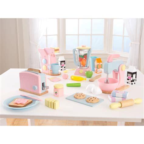 kidkraft  pack pastel play kitchen accessories play
