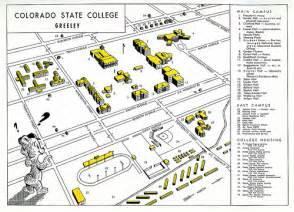 colorado colleges map colorado state college greeley flickr photo