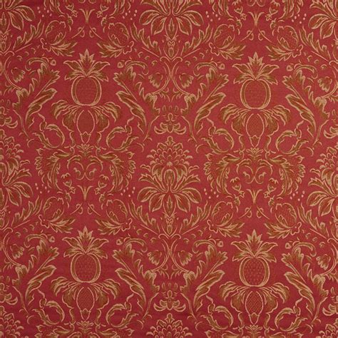 Damask Fabric For Upholstery by Pineapple Damask Upholstery Drapery Grade Fabric
