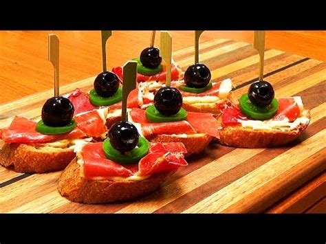 de tapas con quique serrano ham and jalapeno tapas tapas de jamon serrano con jalape 241 o youtube