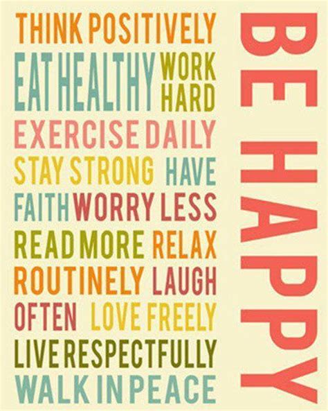 Positive Healthy Living Quotes