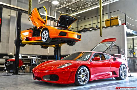 Lamborghini Repair Dealer Visit Distinctive Collection Gtspirit