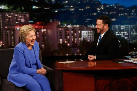 where does hilary clinton live hillary clinton on jimmy kimmel live he mansplains one