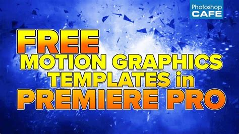 Photoshopcafe Free Motion Graphics Templates For Your Videos In Premiere Pro Premiere Bro Free Motion Graphics Template Premiere Pro