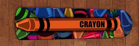 Crayon Ceiling Fan by Crayons Ceiling Fan Blades Bedroom Decor Boys Childrens Nursery Orange Ebay