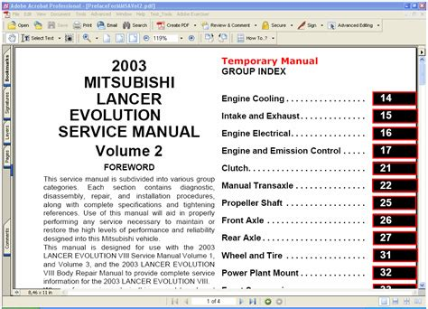 car maintenance manuals 2003 mitsubishi lancer evolution user handbook mitsubishi lancer evolution 2003