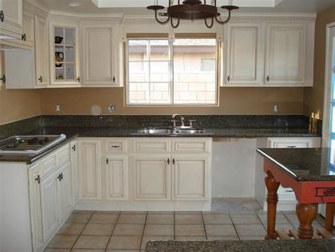 antique white cabinets diy antique white cabinets kitchen traditional with crown