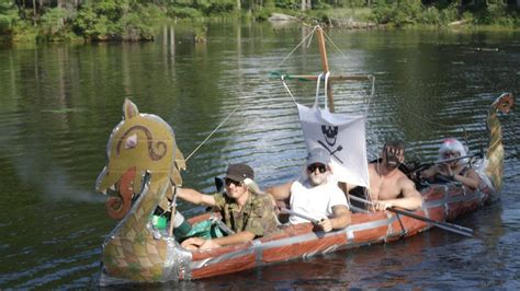 viking cardboard boat race cardboard boats with duct tape yahoo image search
