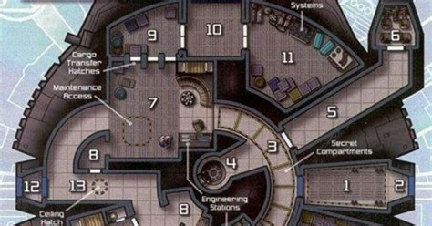interior layout of millennium falcon millennium falcon water air space vehicles pinterest