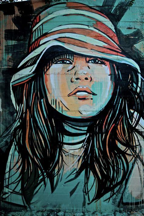 beautiful street art  alice thearthunters