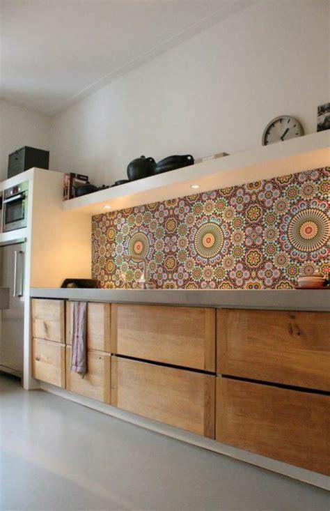 騁ag鑽e murale cuisine le carrelage mural en 50 variantes pour vos murs