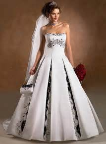 Black and white wedding dresses 2013 styles of wedding dresses